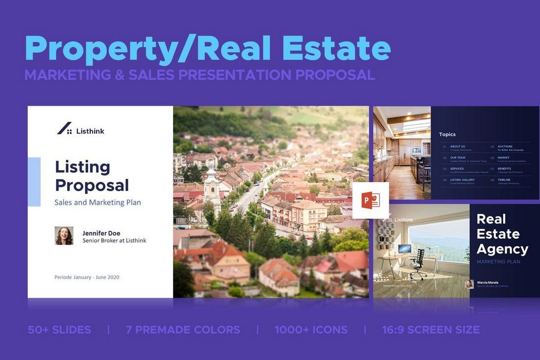 Property-Marketing-Sales-Presentation 50+ Best PowerPoint Templates of 2019 design tips