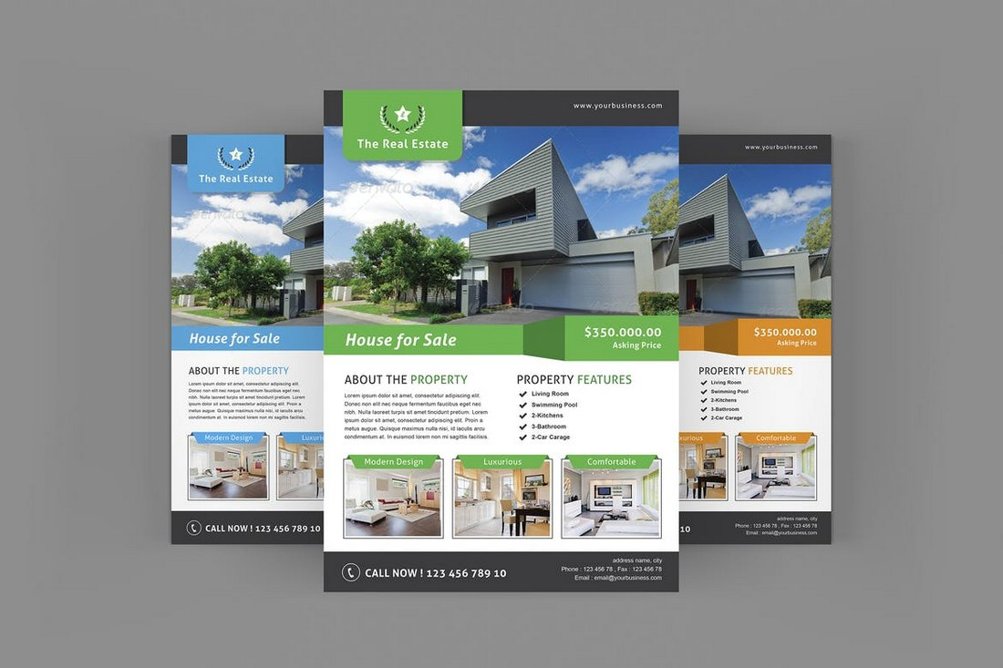 Property Real Estate Flyer Template