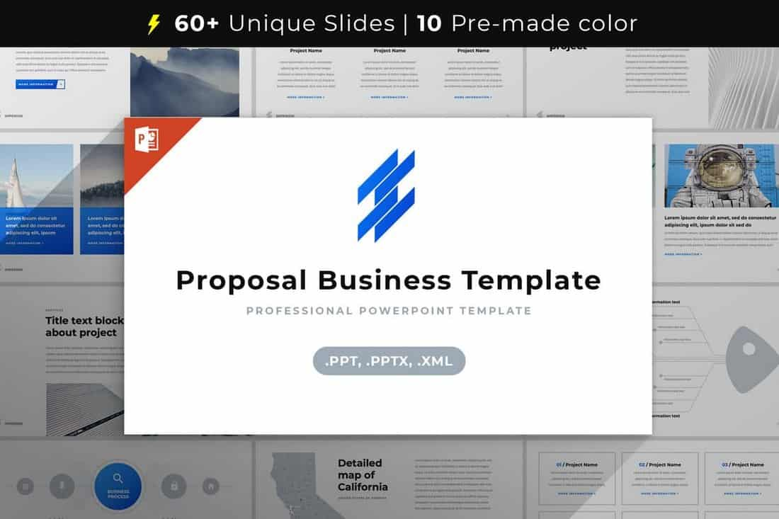 Proposal Business Plan Template PowerPoint
