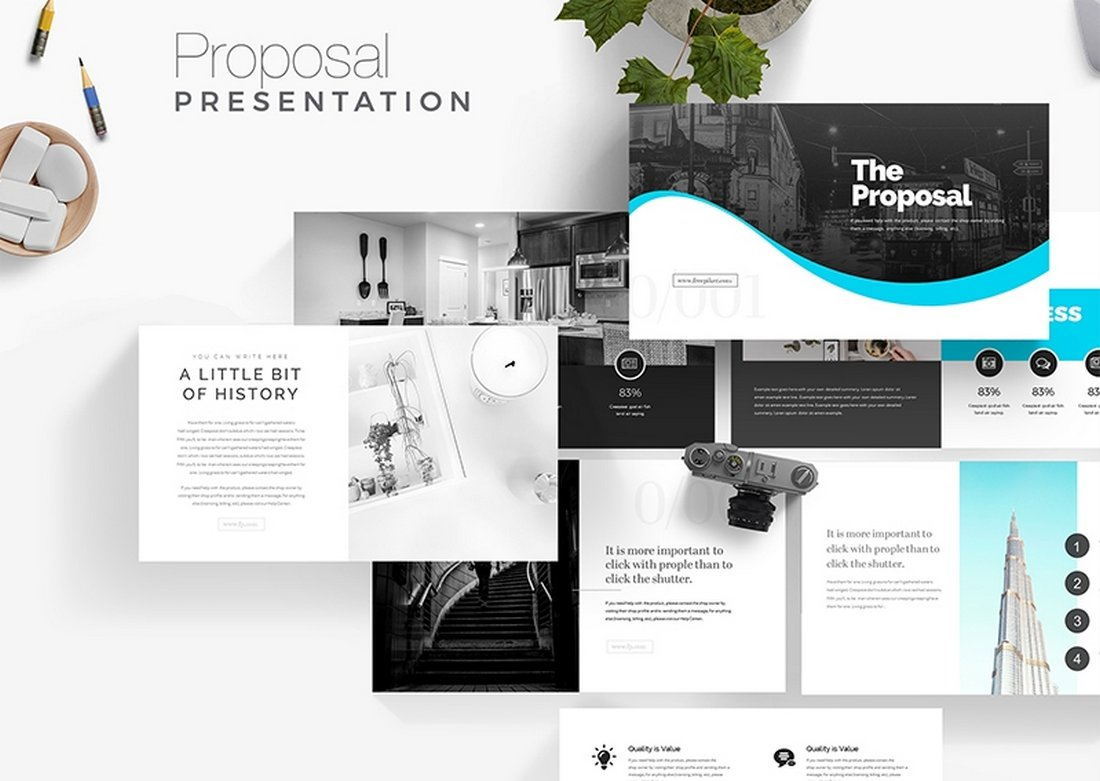 Proposal - Free Presentation Template