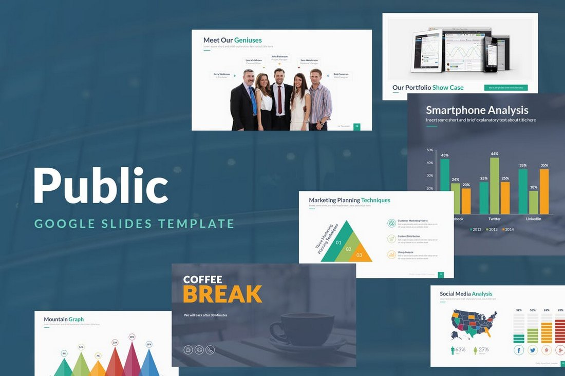 Public-Google-Slides-Template 15+ Google Slides Templates for Teachers design tips