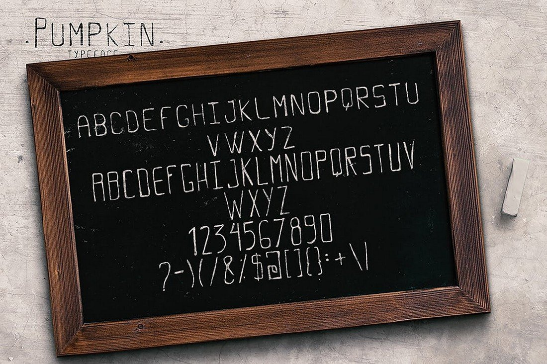 Pumpkin-Alphabet-Numbers-Font 40+ Best Number Fonts for Displaying Numbers design tips