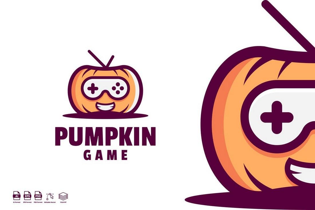 Pumpkin - Gaming Logo Template