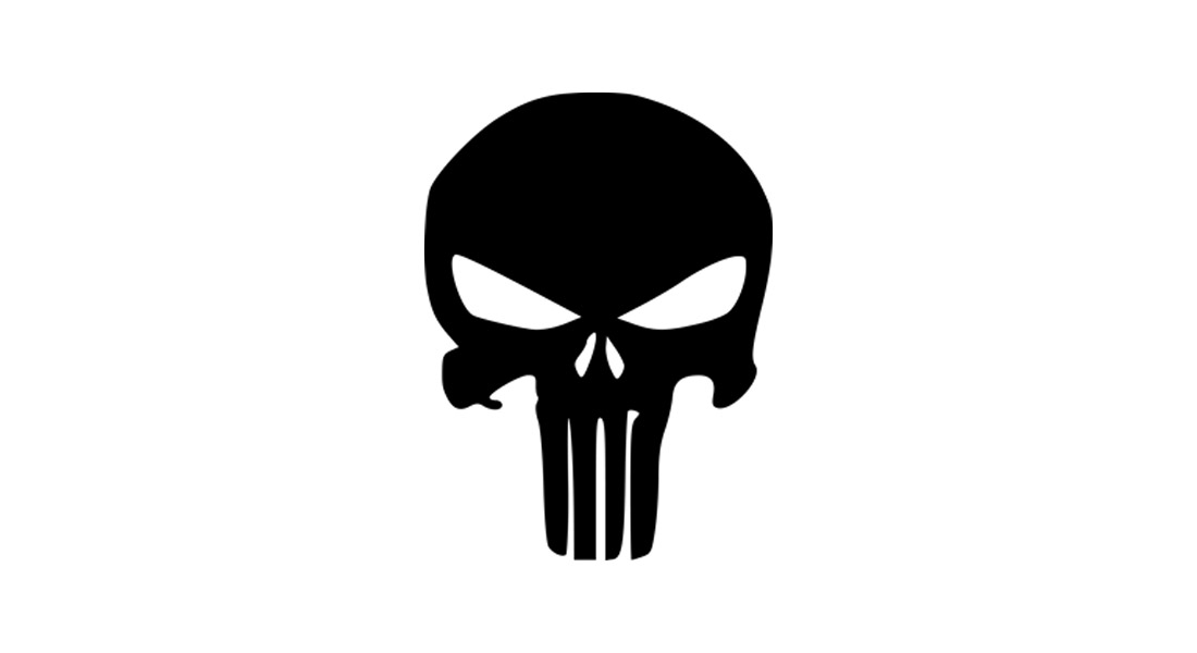 Modèle de logo Punisher