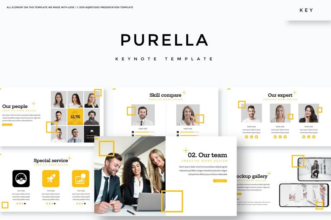Purella-Business-Keynote-Template 50+ Best Keynote Templates of 2021 design tips