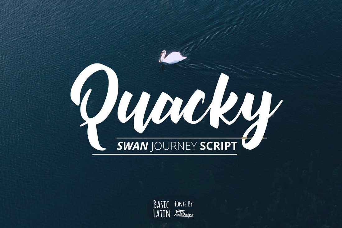 Quacky-Font 50+ Best Hand Lettering & Handwriting Fonts 2021 design tips