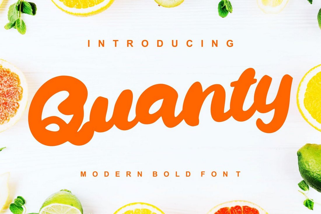Quanty-Modern-Script-Bold-Font-1 30+ Best Fonts for Posters design tips