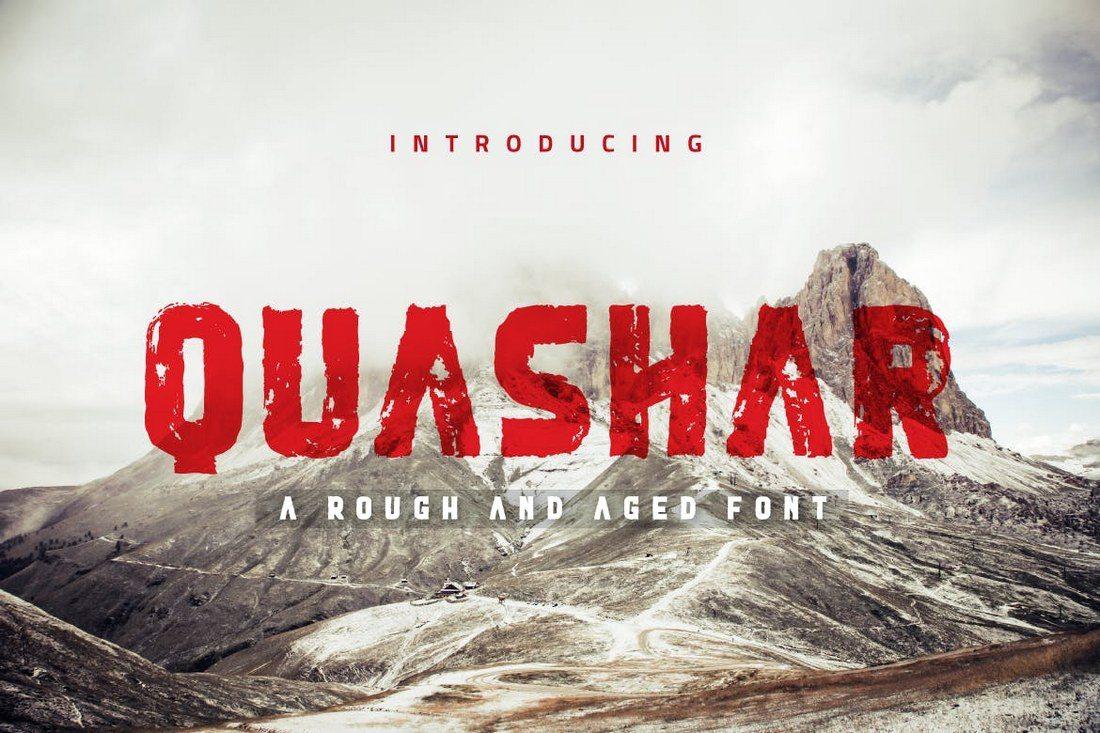 Quashar 30+ Best Modern & Futuristic Fonts 2021 design tips