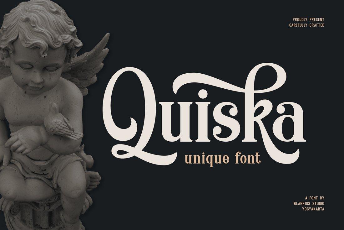 Quiska-Free-Blackletter-Font 40+ Best Gothic Fonts design tips