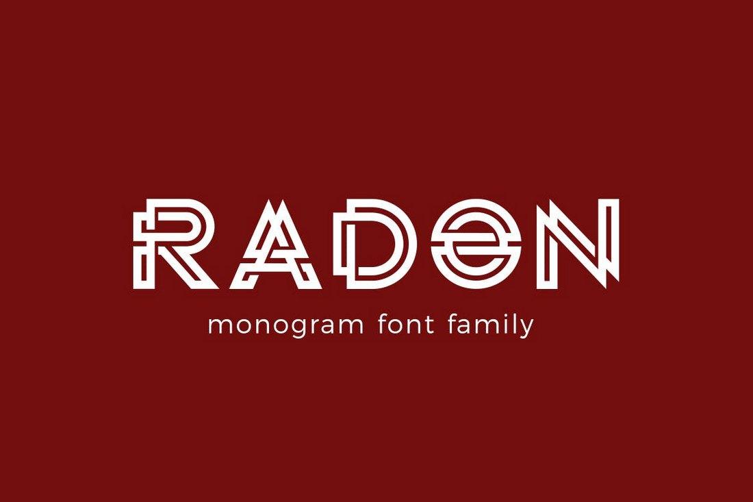 30 Best Monogram Fonts Design Shack
