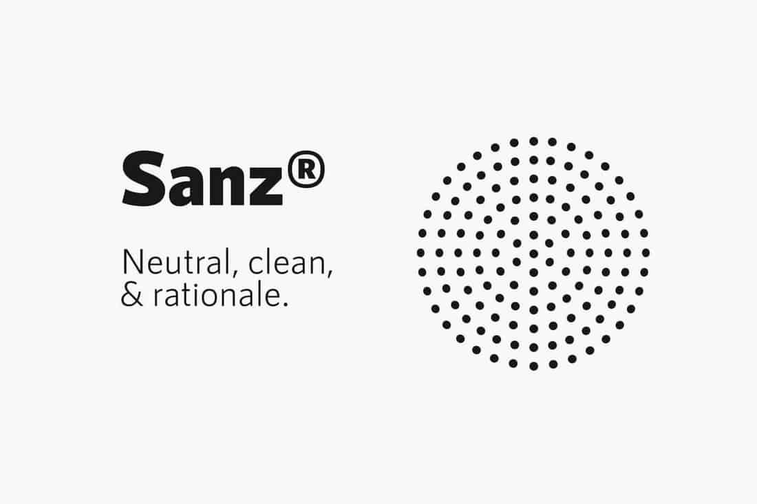 RNS Sanz - Clean Font