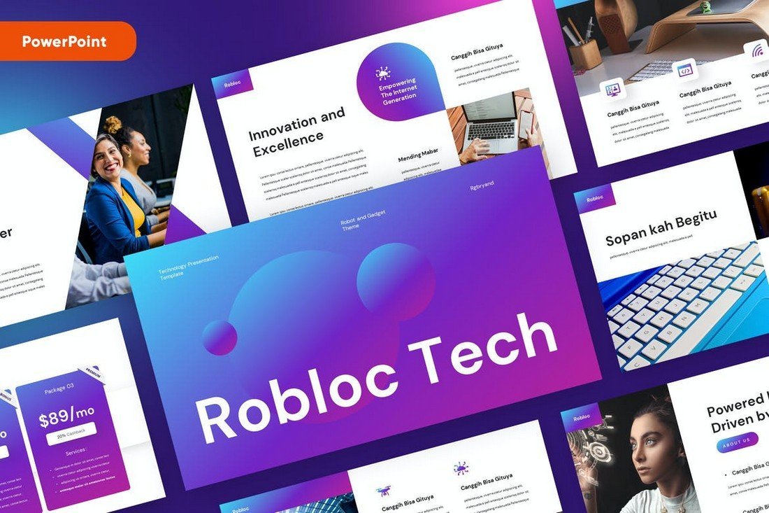 ROBLOC - Technology Powerpoint Template