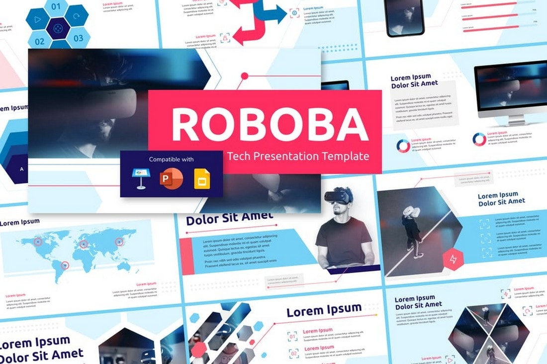 ROBOBA-Tech-Presentation-Template 50+ Best PowerPoint Templates of 2020 design tips