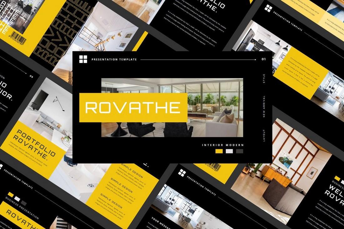 ROVATE - Technology Keynote Template