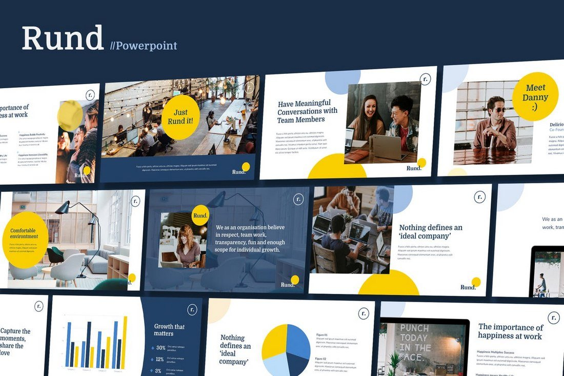 RUND - Modern Business Powerpoint Template