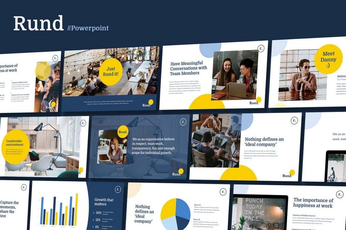 RUND - Modern Business Powerpoint Template