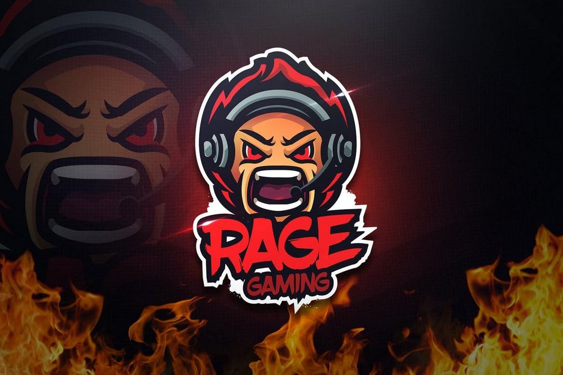 Rage Gaming - Mascot & Esport Logo