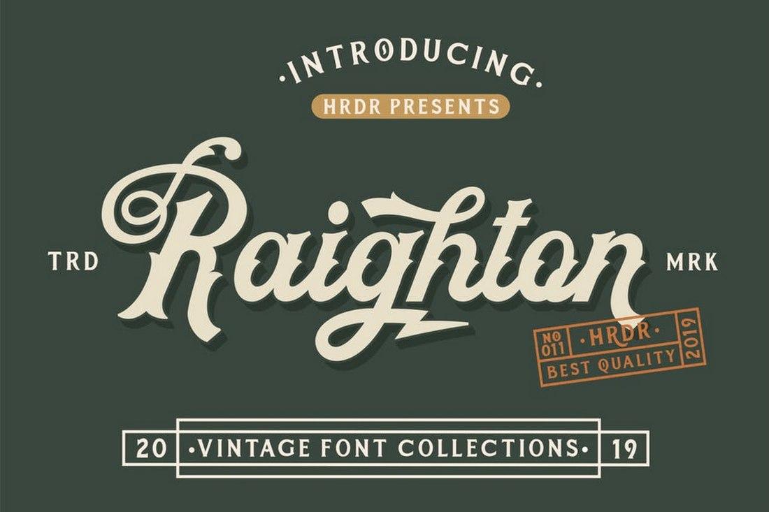 Raighton Font Collection