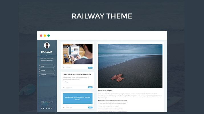Railway-Premium-Tumblr-Theme