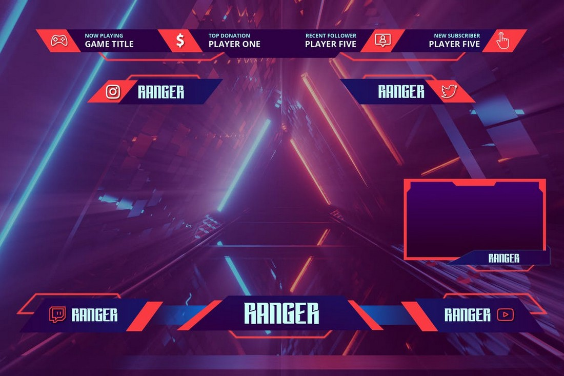Ranger - Twitch Overlay Template