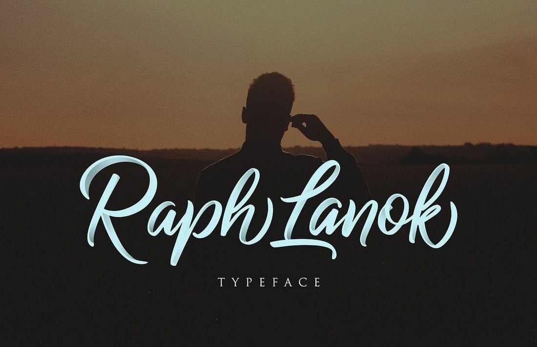 Raph-Lanok-Typeface-1 60+ Best Free Fonts for Designers 2019 (Serif, Script & Sans Serif) design tips