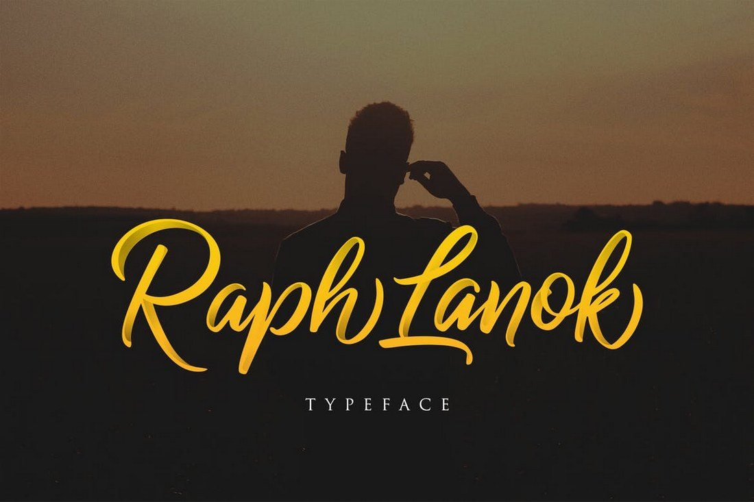 Raph-Lanok-Typeface 30+ Best Fonts for Logo Design design tips