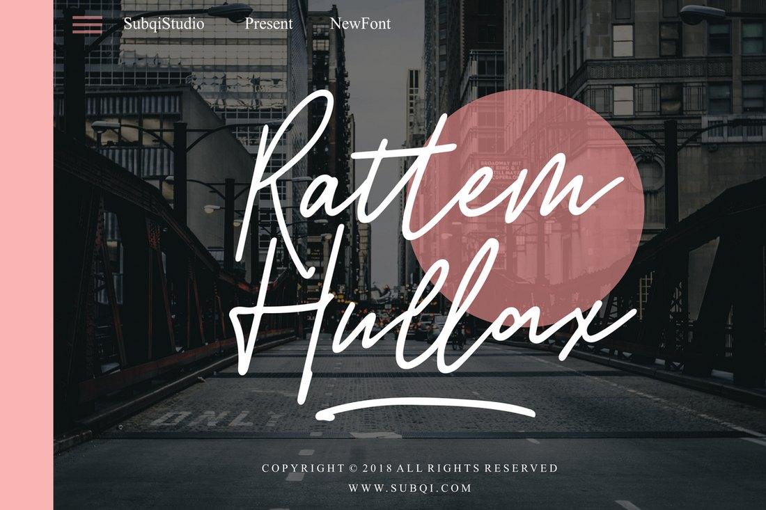 Rattem-Hullax 30+ Best Cursive & Script Fonts design tips
