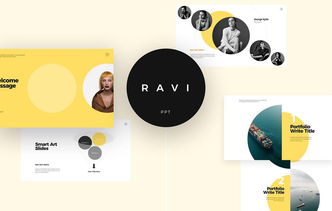 Ravi-Free-Minimal-Keynote-Template 50+ Best Keynote Templates of 2020 design tips  Inspiration|keynote|powerpoint|presentation