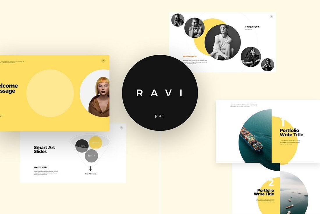 Ravi - Free PowerPoint Presentation Template