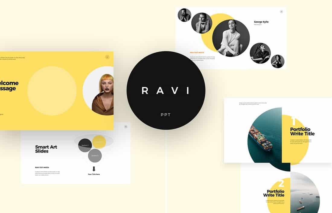 Ravi - Free Powerpoint & Keynote Template