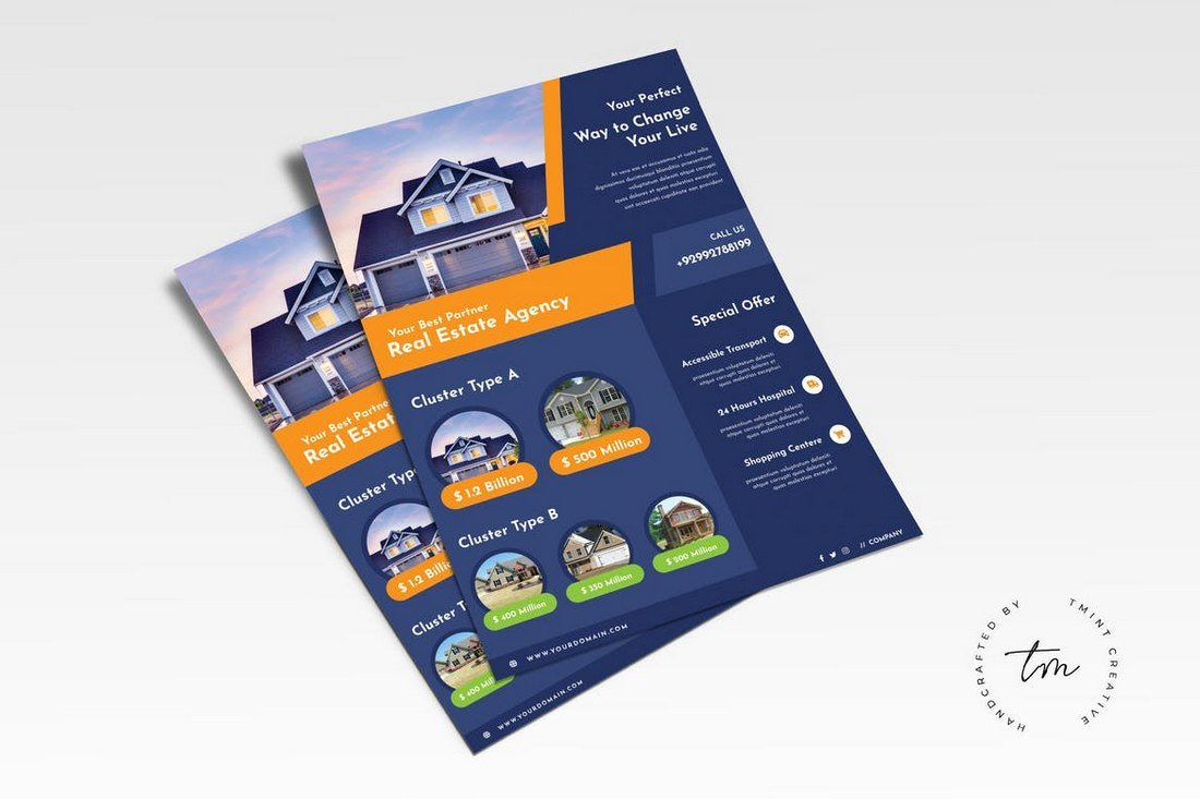 Real-Estate-Business-Flyer-Template 30+ Best Real Estate Flyer Templates design tips  Inspiration|flyer|property|real estate