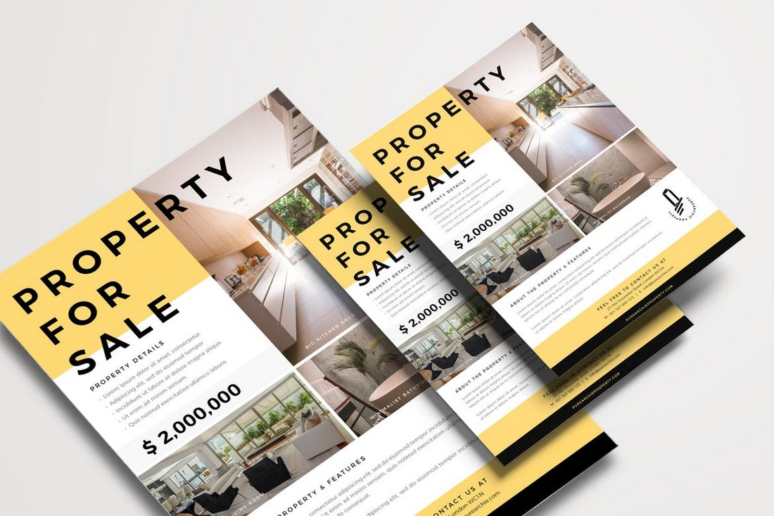 Real-Estate-Sale-Flyer-Template 30+ Best Real Estate Flyer Templates design tips  Inspiration|flyer|property|real estate