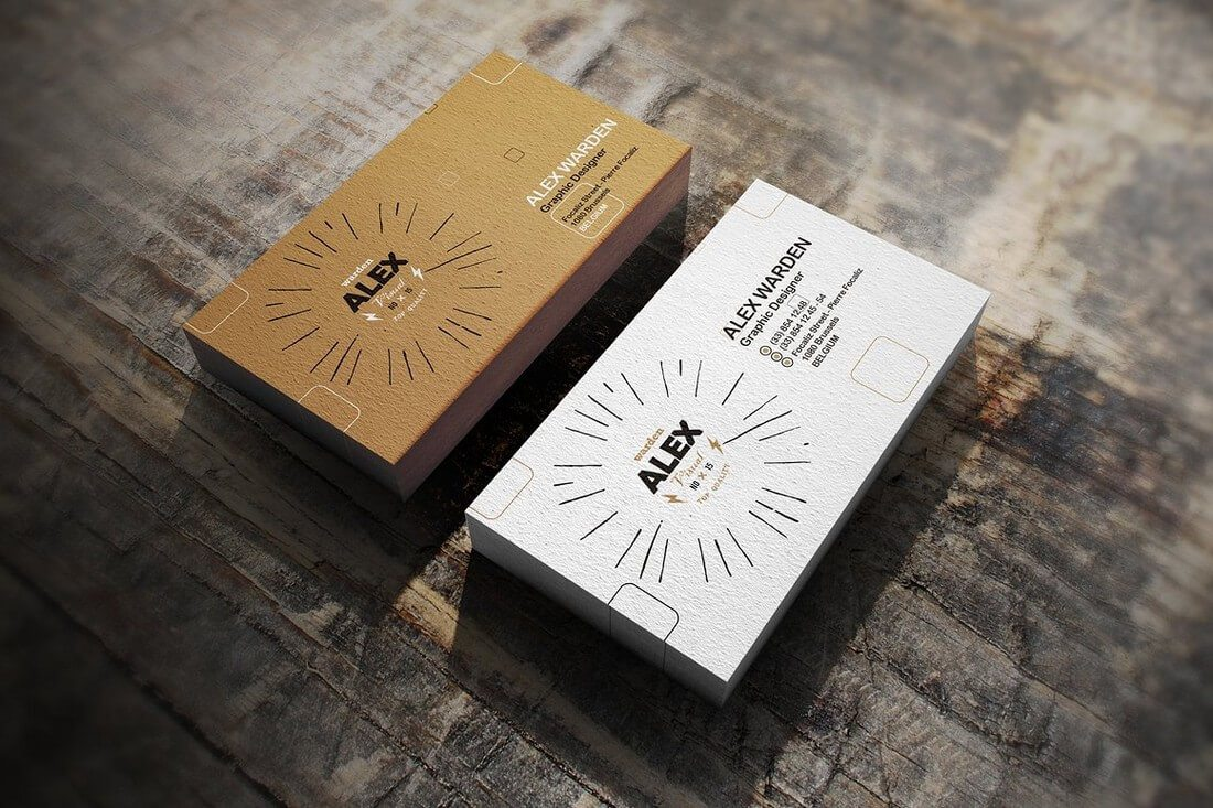 70 corporate creative business card mockups design shack realistic business card mockups reheart Gallery