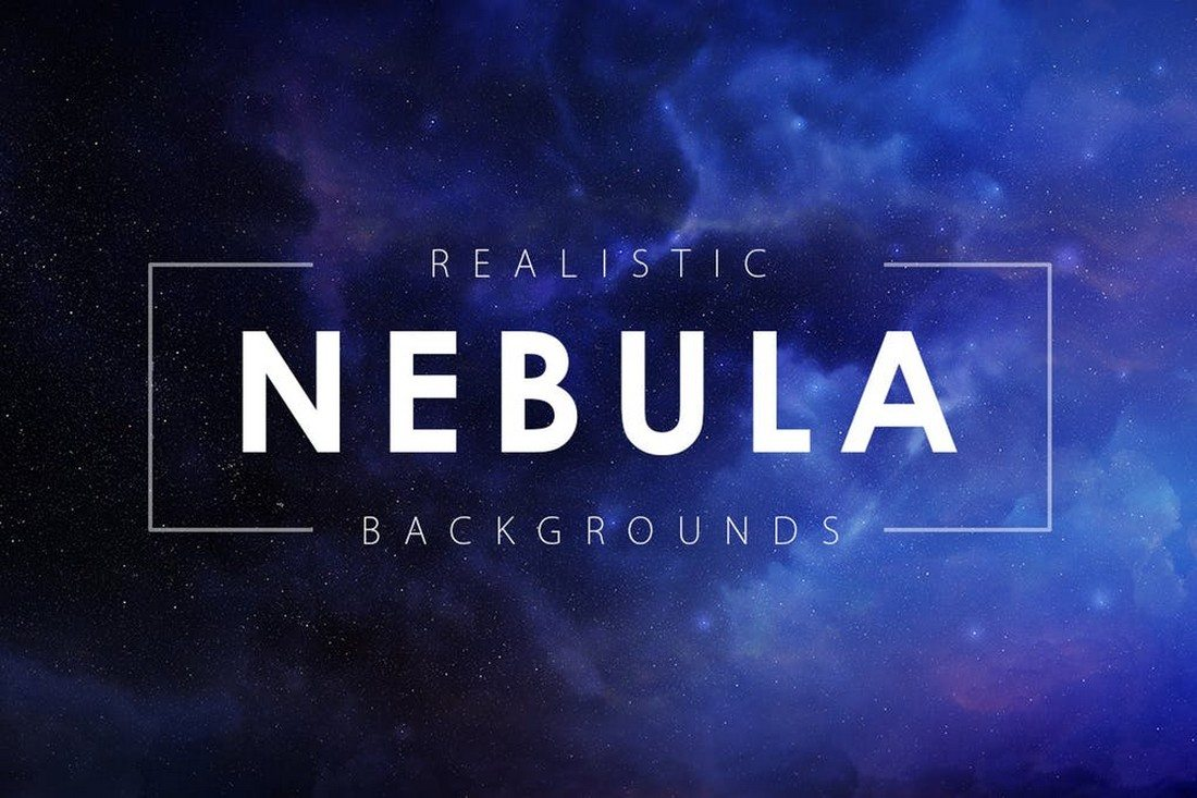 Realistic-Nebula-Backgrounds 35+ Best Space & Galaxy Background Textures design tips