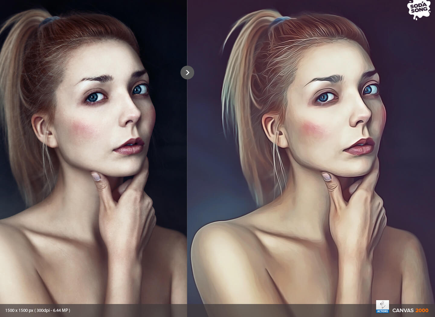 Realistic Painting Action for Photoshop by SodaSong in GraphicRiver - Preview (1)