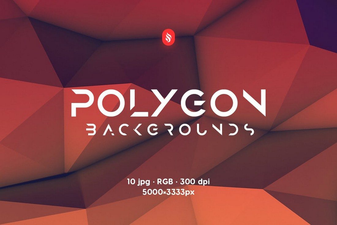 Realistic-Polygon-Backgrounds 20+ Beautiful Geometric & Polygon Background Textures design tips