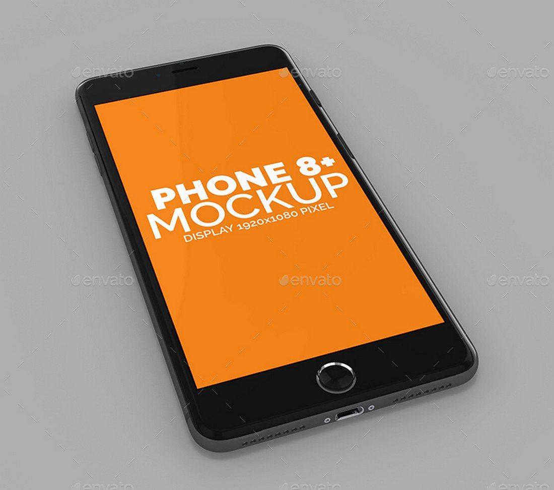 Realistic-iPhone-8-Plus-Mockup 20+ Best iPhone 8 Mockups design tips