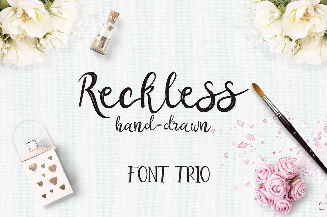 Reckless-Font-Trio 50+ Best Hand Lettering & Handwriting Fonts 2021 design tips