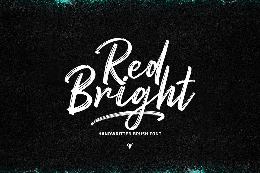 Red-Bright 30+ Best Cursive & Script Fonts design tips