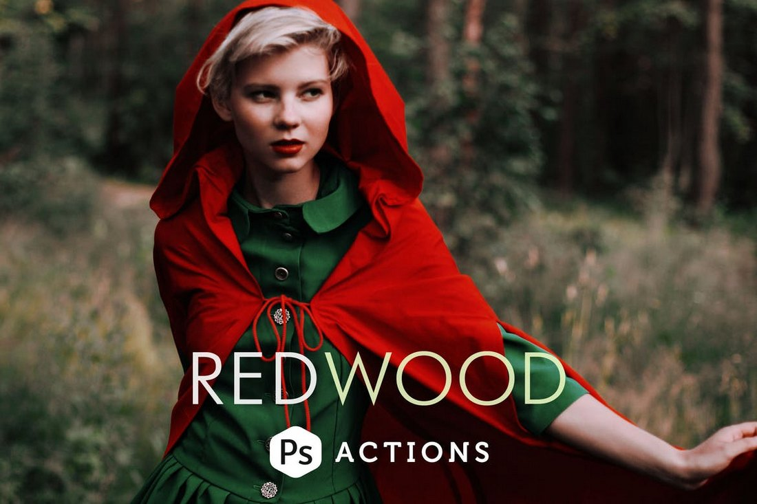 Redwood Fairytale Actions Photoshop