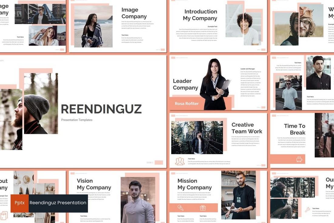 Reendinguz - Modern Powerpoint Template