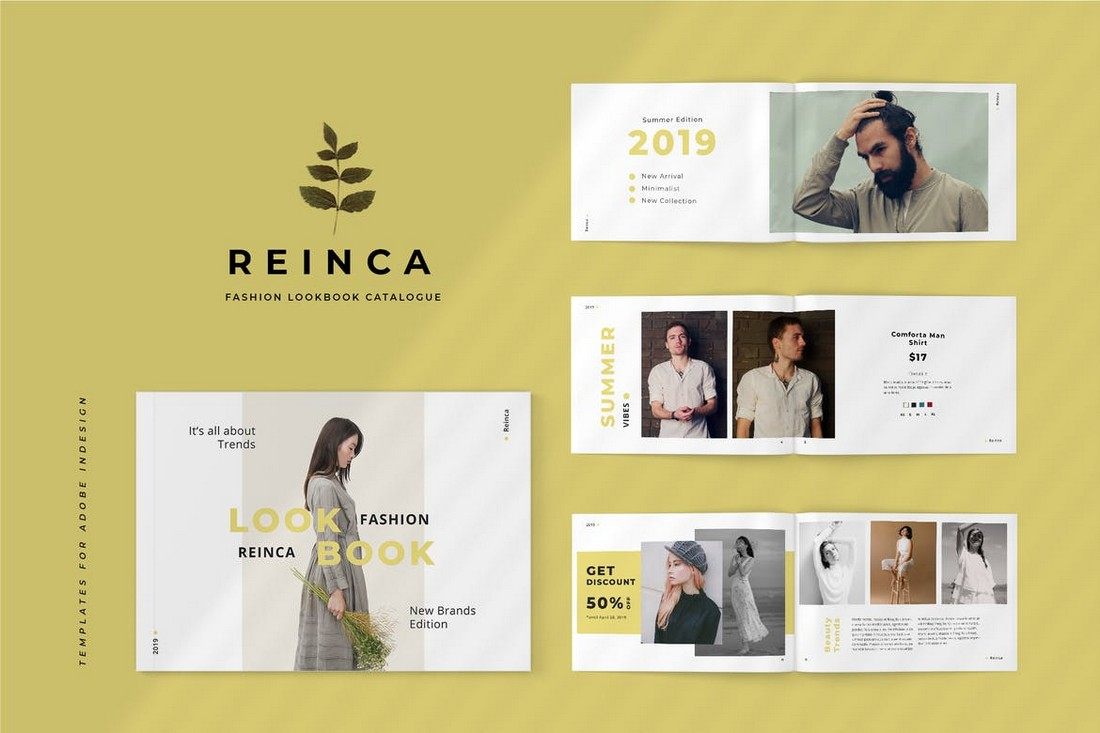 Reinca - Lookbook Fashion Catalog Template