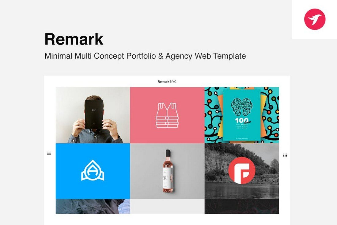 Remark - Multi Concept Portfolio & Agency Template