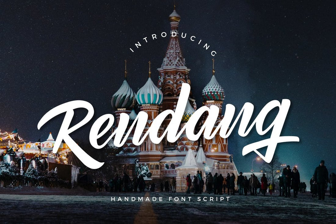 Rendang-Handmade-Font 30+ Best Fonts for Posters design tips