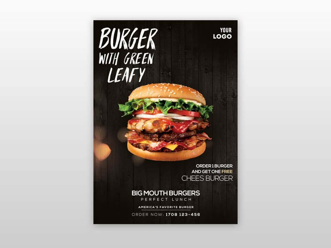 Restaurant & Food Flyer Template