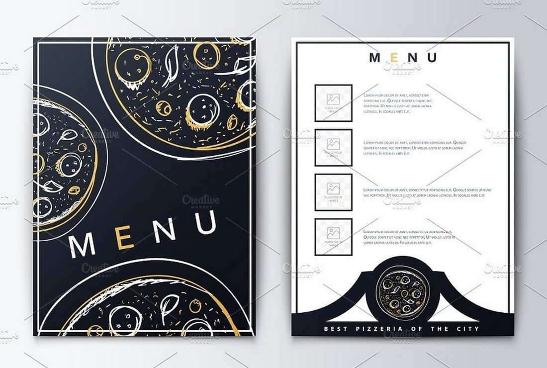 Restaurant-menu 50+ Best Food & Drink Menu Templates design tips