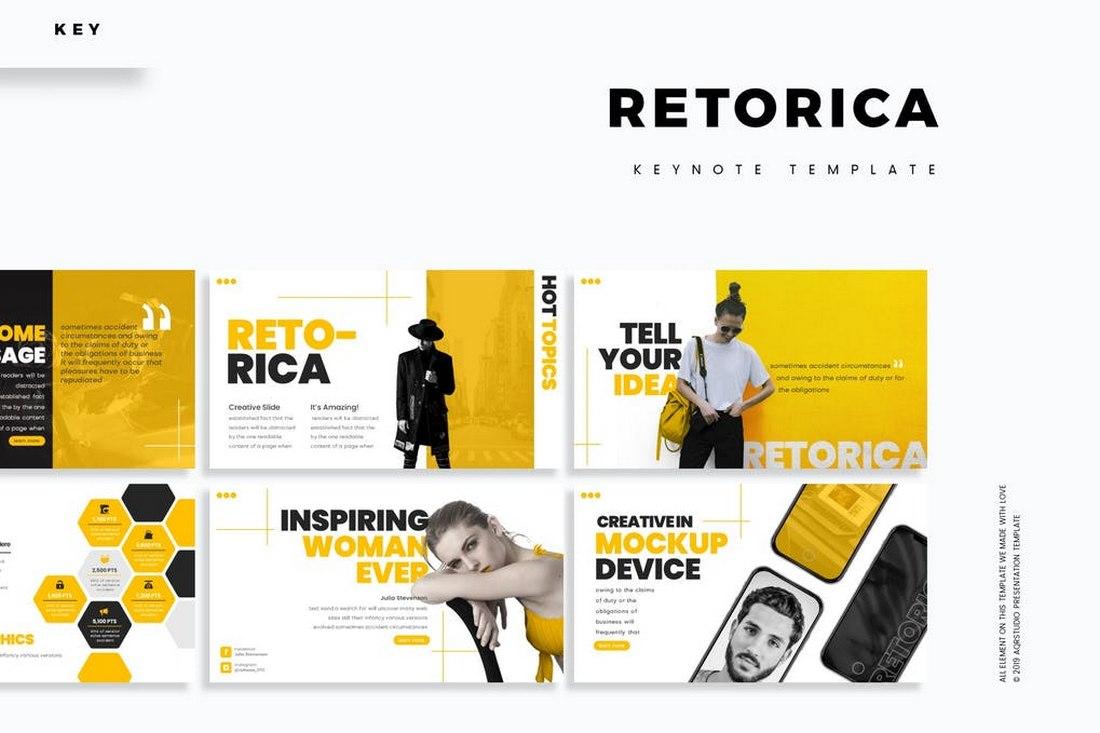Retorica - Keynote Template