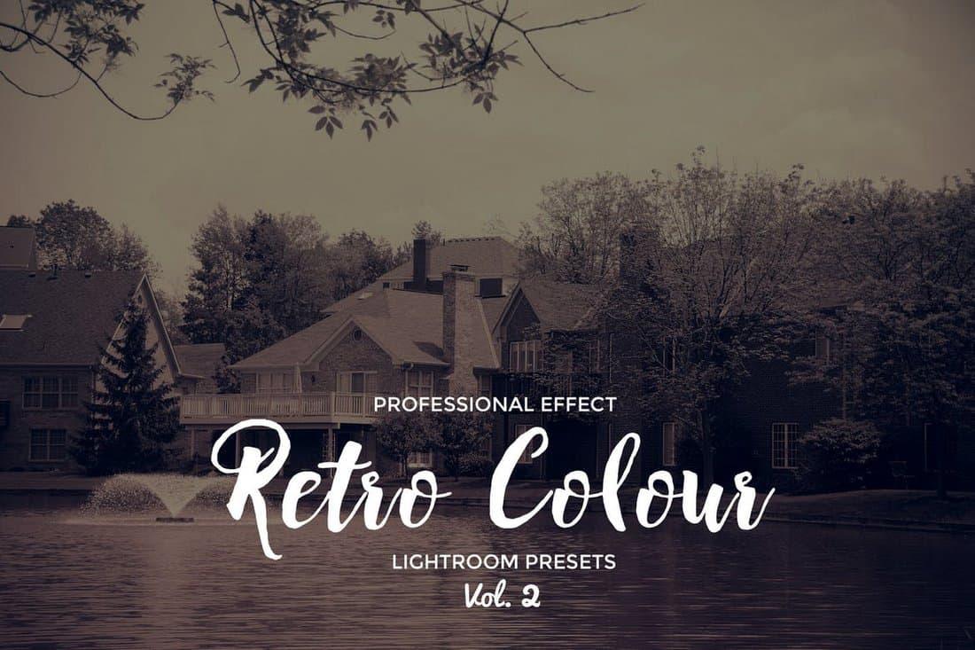 Retro Colour Lightroom Presets
