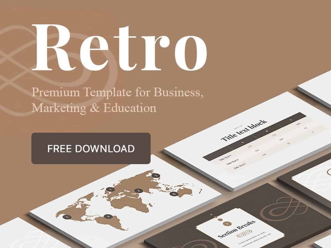 Retro - Keynote & PowerPoint Template