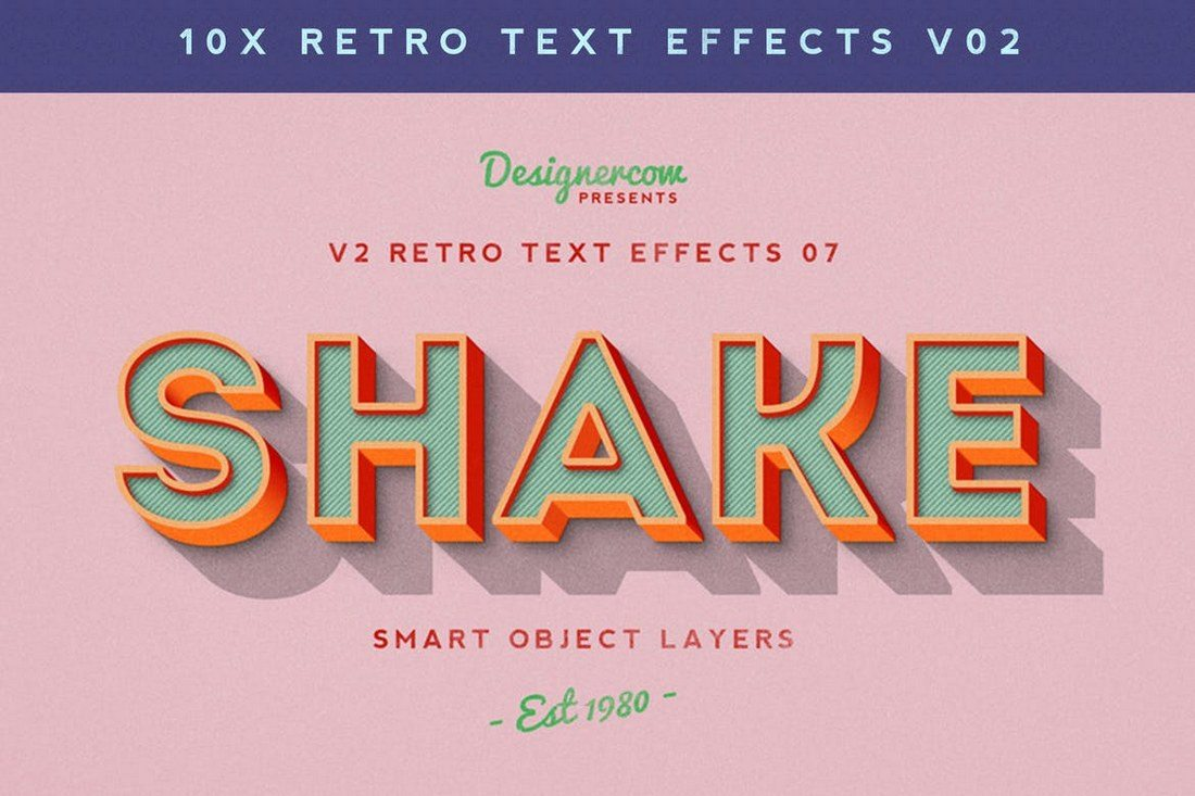 Retro-Text-Effects-V2 30+ Best Retro Text Effects & Styles design tips